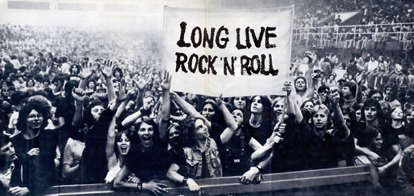 historia del rock and roll