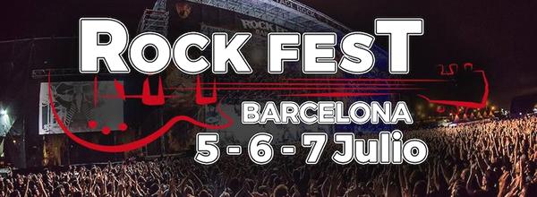 bandas de rock españa, rock fest barcelona