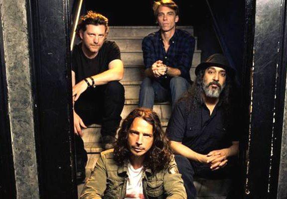 imagen de la banda soundgarden, foto de la banda de chris cornell de rock alternativo
