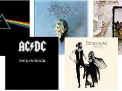 cuales son los 5 discos de rock más vendidos de la historia