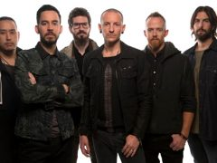 linkin park , la banda de rock alternativo de chester bennington y mike shinoda