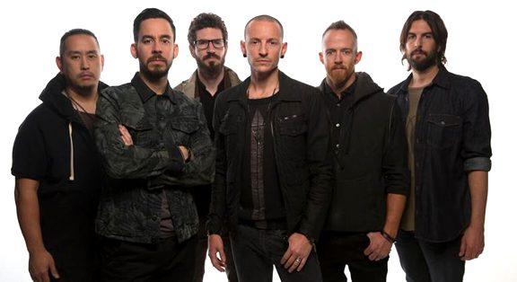 linkin park , la banda de rock alternativo de chester bennington y mike shinoda